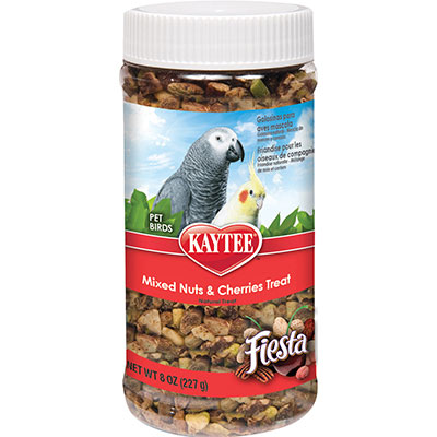 KAYTEE® Fiesta® Mixed Nuts & Cherries Treat Jar Z07185994283