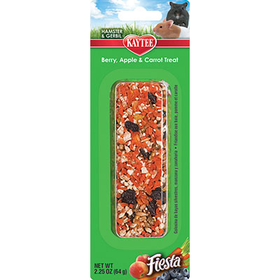 Kaytee® Fiesta® Berry, Apple & Carrot Treat Stick Z07185994408