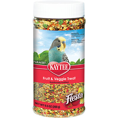 KAYTEE® Fiesta® Fruit & Veggie Treat Jar for Parakeets Z07185999855