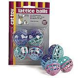 Spot® Lattice Balls™ with Bell 4 Pack Z07723402914