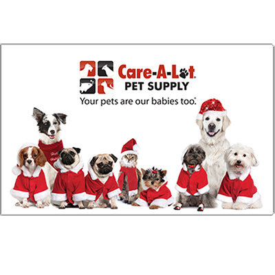 Care-A-Lot® Pet Supply Generic Gift Cards with FREE Shipping  GenericHoliday