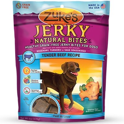 Zuke's® Jerky Naturals™ Dog Treats 6 oz. Beef I007067