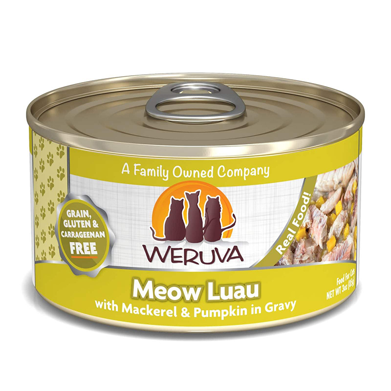 Weruva Meow Luau with Mackerel and Pumpkin 111505b