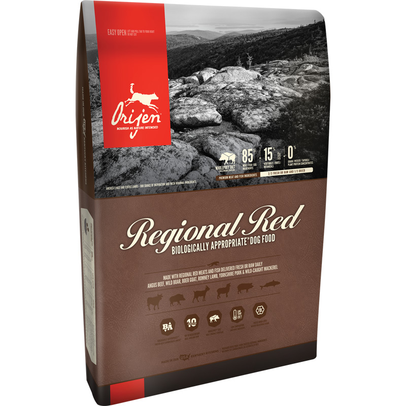 5# Orijen Dog Regional Red Dry Dog Food 111904