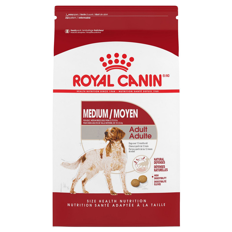 Royal Canin® MEDIUM Adult 25 Dog Food 112026B