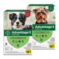 Advantage® II Topical Flea Treatment For Dogs 11834b