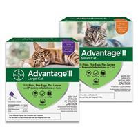 Advantage flea drops for Cats 1186e