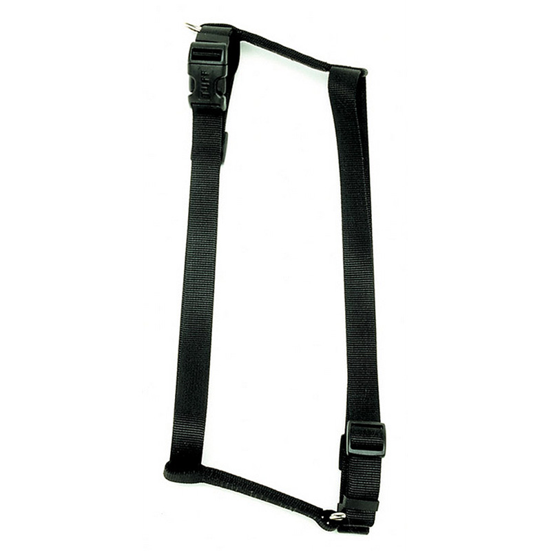 Coastal Adjustable Comfort Wrap Black Harness 162011b