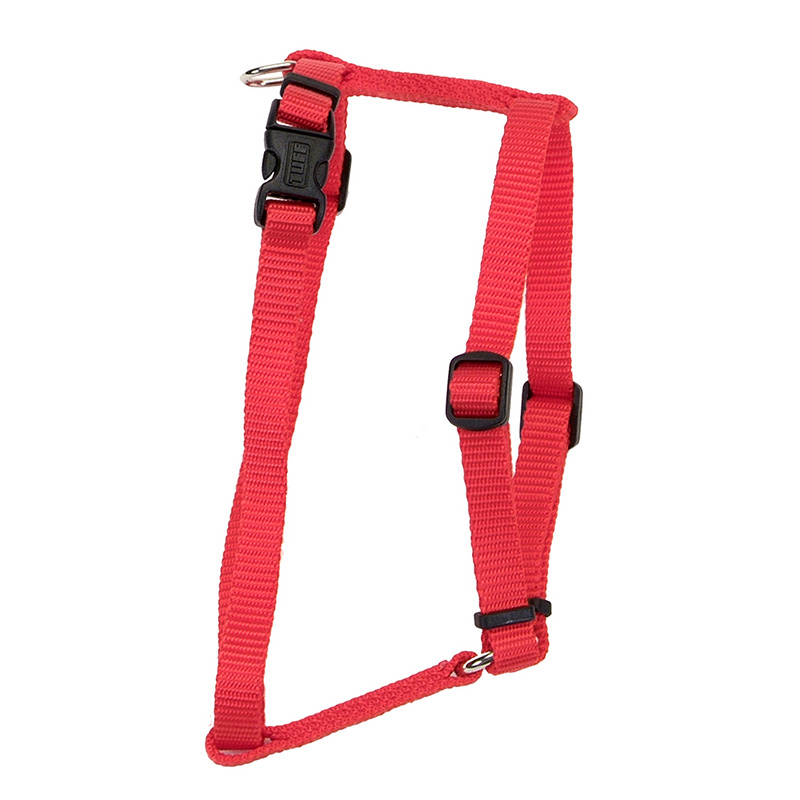 Coastal Adjustable Comfort Wrap Red Harness 162012b