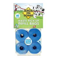 Bags on Board Waste Pick-Up Refill Bags 60ct 19221