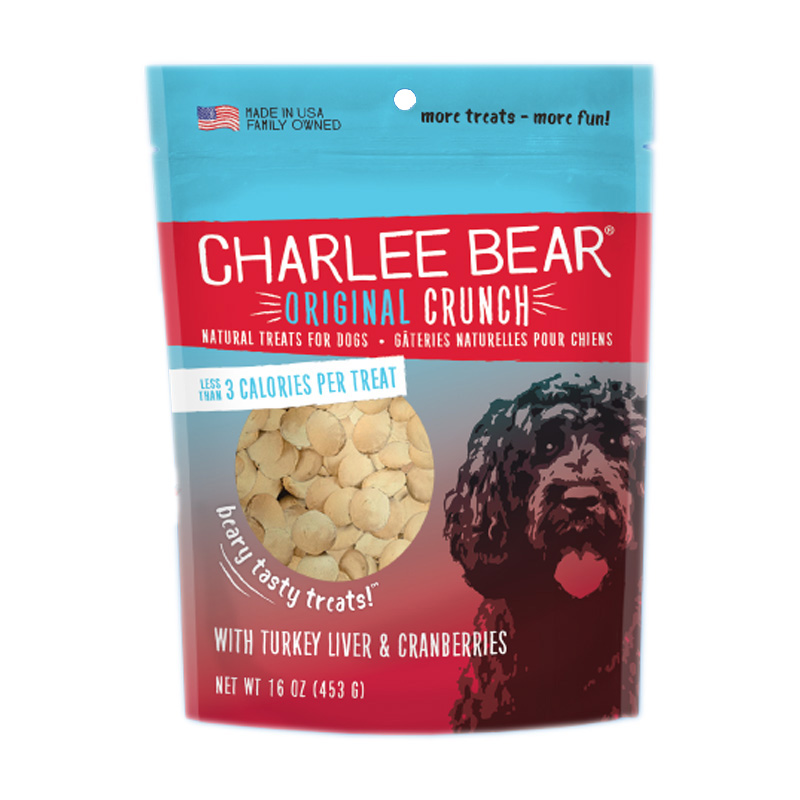 Charlee Bear® Turkey and Cranberry Treats 16 oz. Pouch 20053