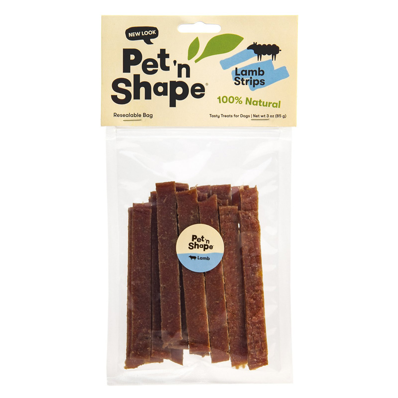 Pet 'N Shape Lamb Strips 3 oz. 36108