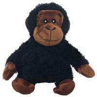 Multipet Look Who's Talking Plush Chimp Dog Toy 453511