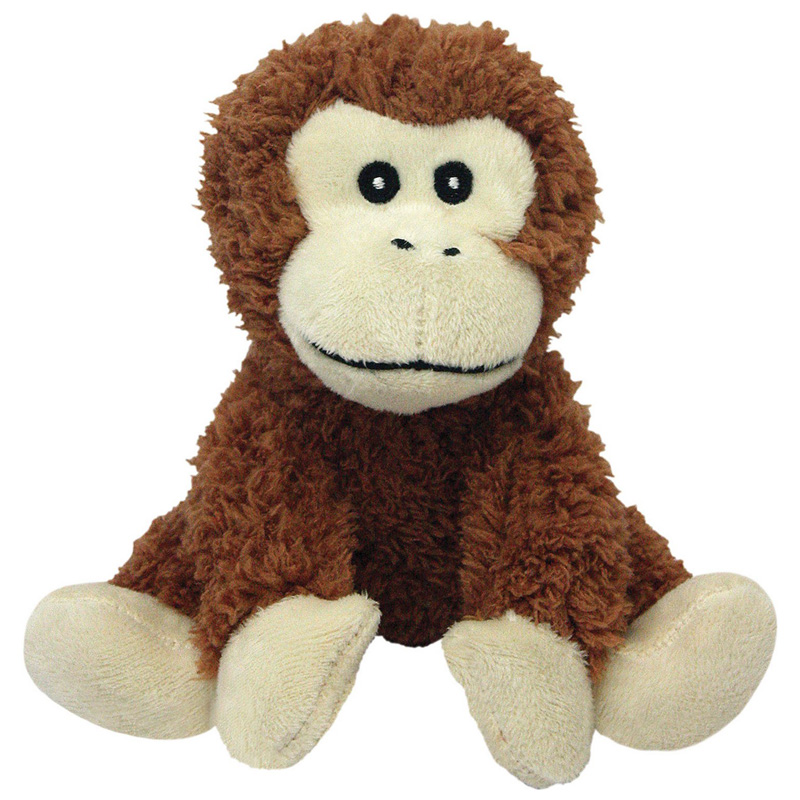 Multipet Look Who's Talking Plush Monkey Dog Toy 45353