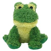 Multipet Look Who's Talking Plush Frog Dog Toy 45354