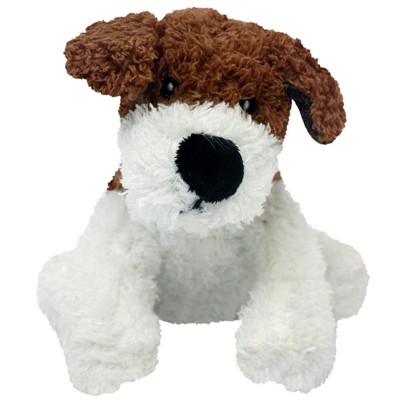 "Multipet Look Who's Talking Plush ""Dog"" Dog Toy 45355"