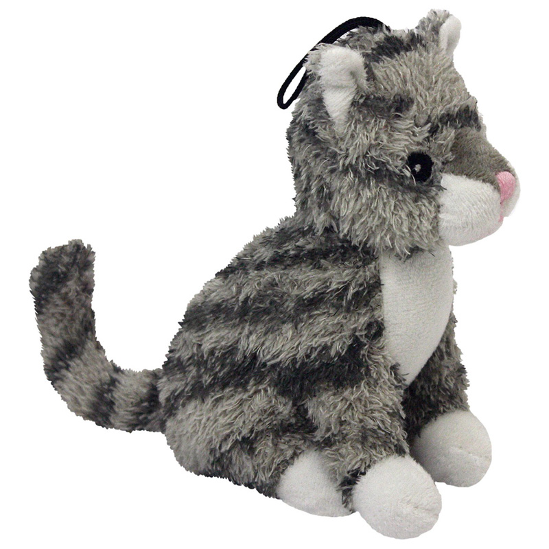 Multipet Look Who's Talking Plush Cat Dog Toy 45356
