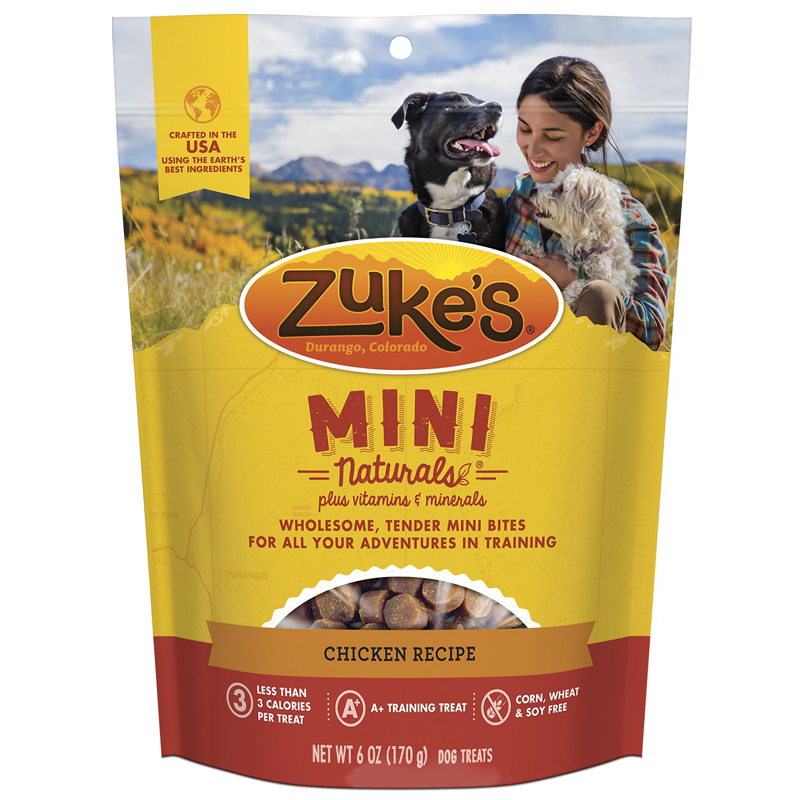 Zuke's® Mini Naturals™ Healthy Moist Dog Treats 482811b