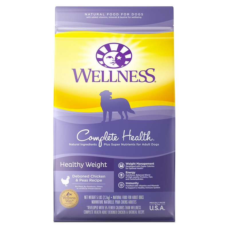 Wellness® Weight Management Adult Dog Food 5477B