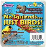 Brown's® Garden Chic!® No Squirrels...Just Birds!™ Spicy Pepper Suet 11.25 Oz.  5804