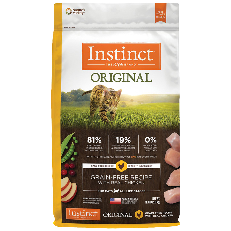 Natures Variety ® Instinct Chicken Meal Cat Food 60302B