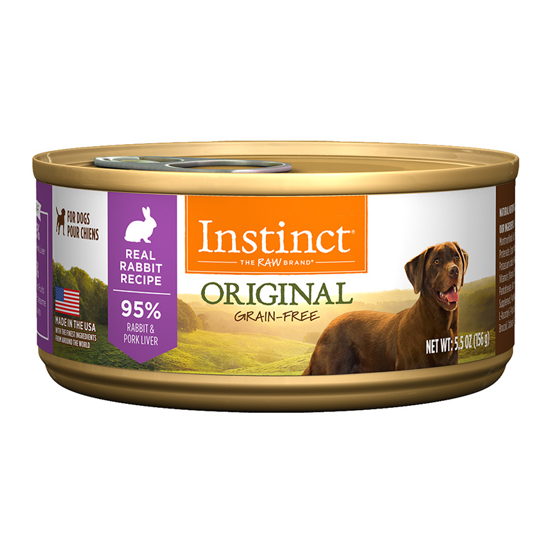 Nature's Variety  Instinct Rabbit Dog Can Dog Food 5.5 oz 60331
