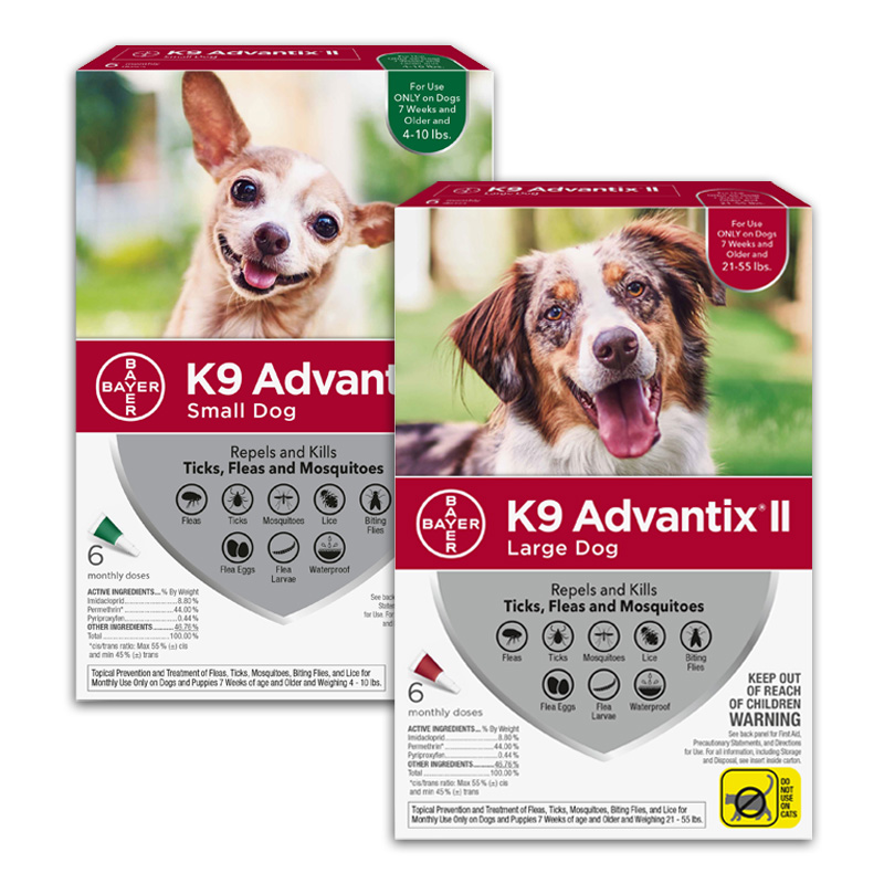 K9 Advantix® II Flea & Tick Topical for Dogs 6100B