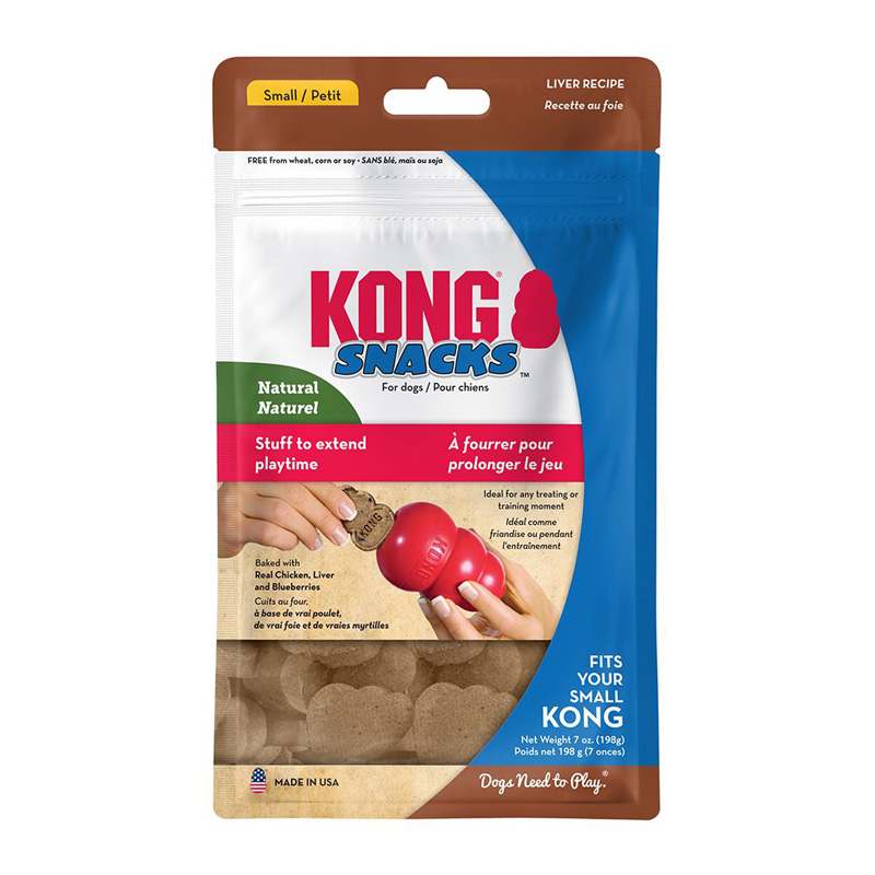 KONG Snacks Liver Recipe Dog Treats  65101b
