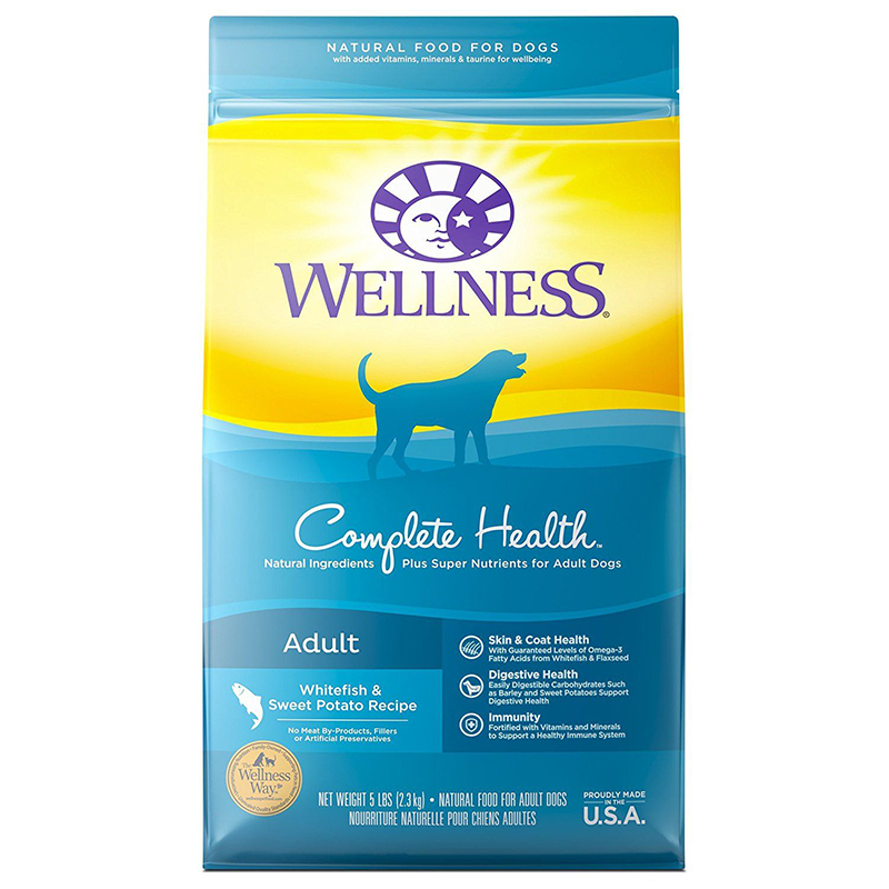 Wellness ® Fish & Sweet Potato Adult Dog Food 69223B