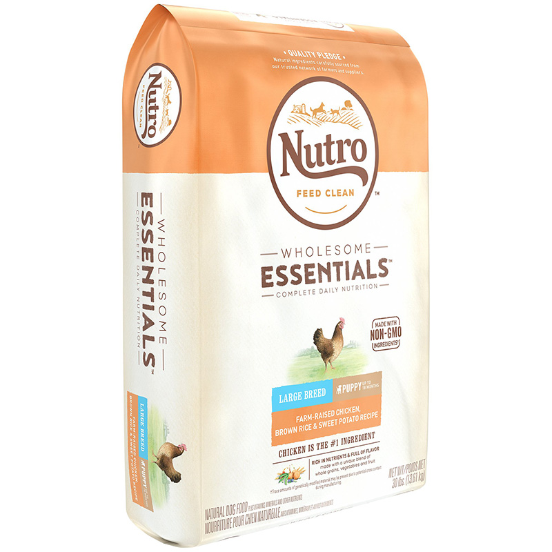 Nutro Wholesome Essentials Large Breed Puppy with Farm-Raised Chicken, Brown Rice & Sweet Potato  69302