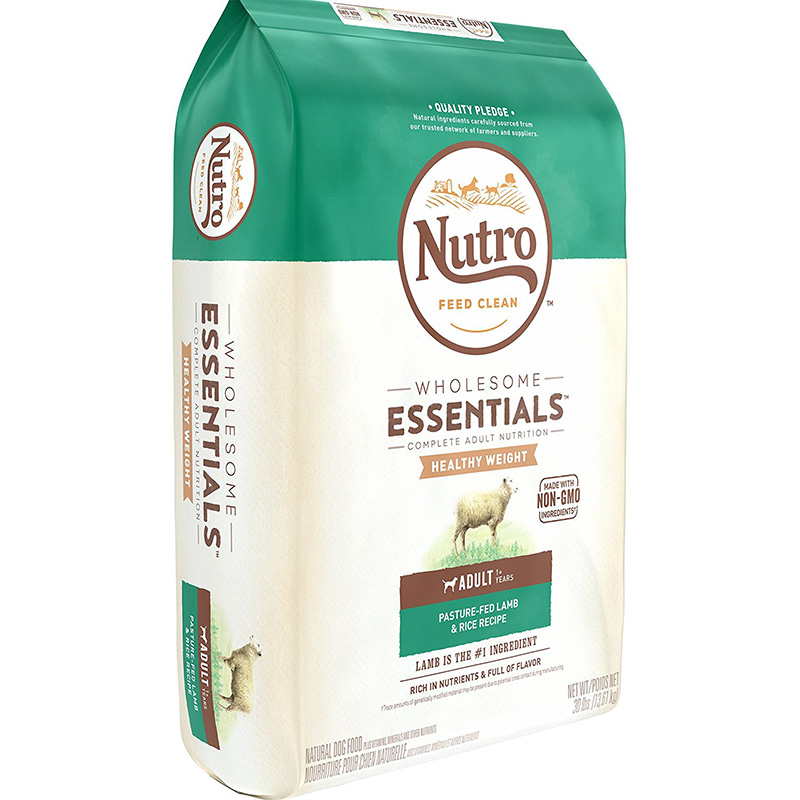 Nutro Wholesome Essentials Healthy Weight Adult with Pasture-Fed Lamb & Rice 30lbs 69342