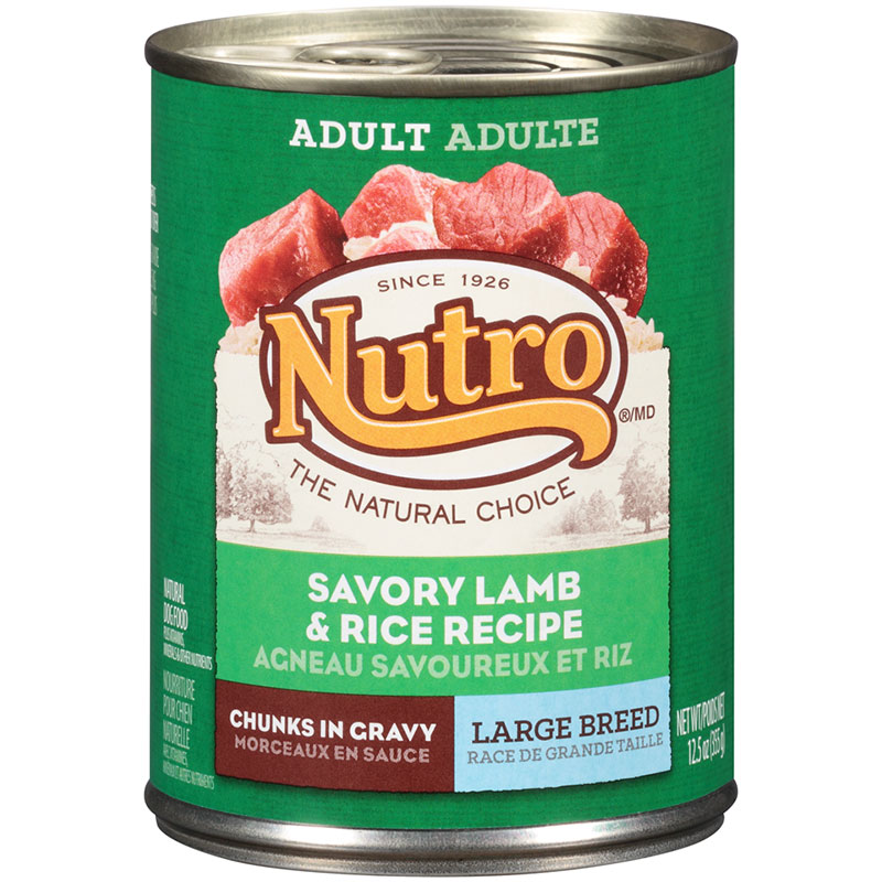 Nutro® Large Breed Adult Savory Lamb & Rice Recipe in Gravy Dog Food 12.5 oz. 69398
