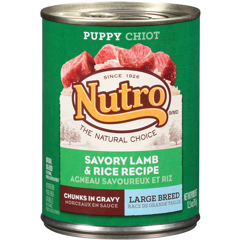 Nutro® Large Breed Puppy Savory Lamb & Rice Recipe 12.5 oz. 69399