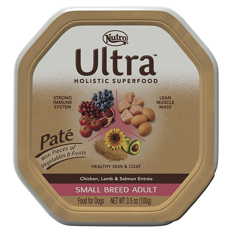 Nutro Ultra Small Breed Pate Blend Tray 3.5 oz. 69412