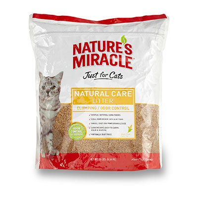 Nature's Miracle® Just for Cats Natural Care Litter 10 lbs. 75310