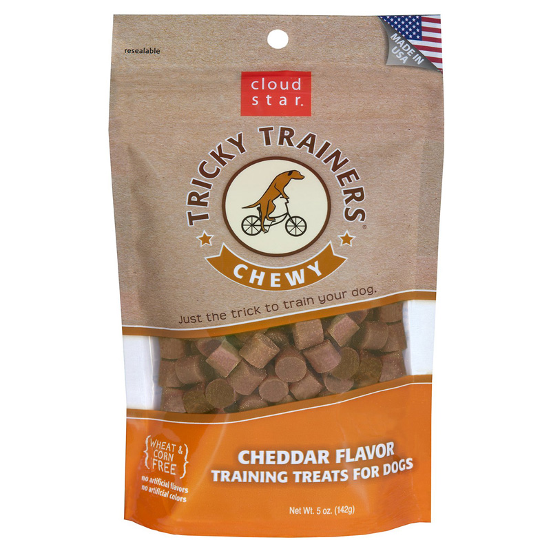 Cloud Star® Tricky Trainers™ Chewy Dog Treats Cheddar 5 oz. 769371