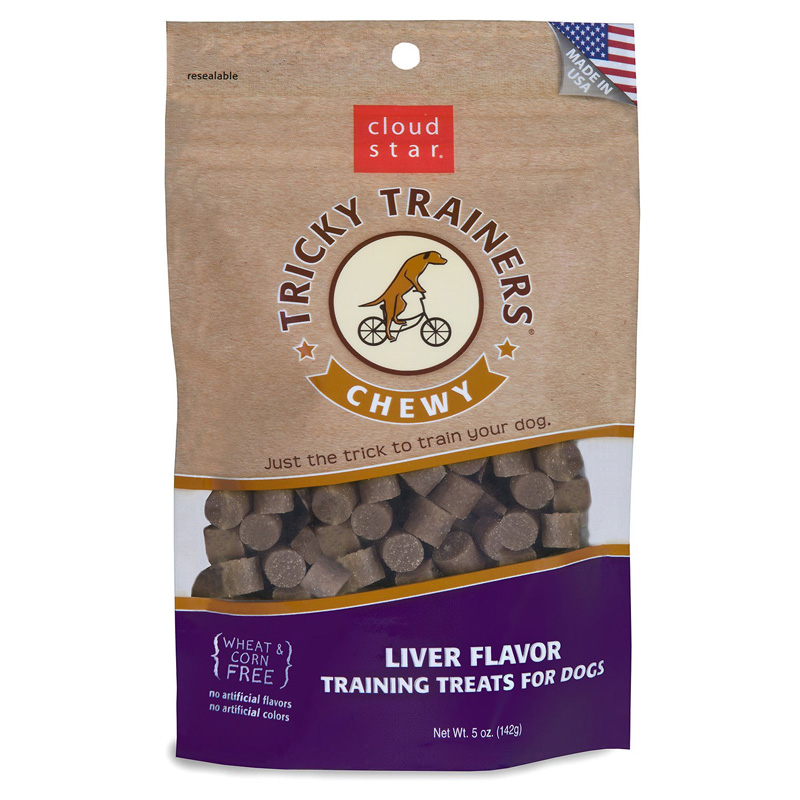 Cloud Star® Tricky Trainers™ Chewy Dog Treats Liver 5 oz.  769372