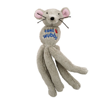 KONG® Wubba™ Animal Cat Toy Mouse 79344