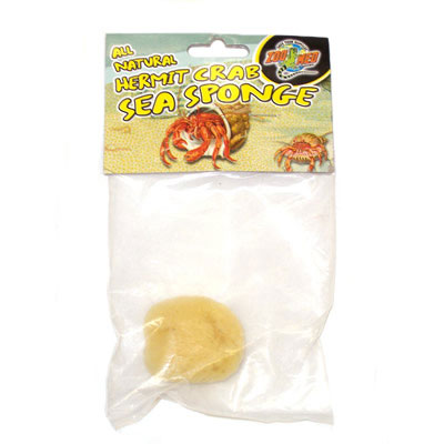 Zoo Med Hermit Crab Sea Sponge  90034