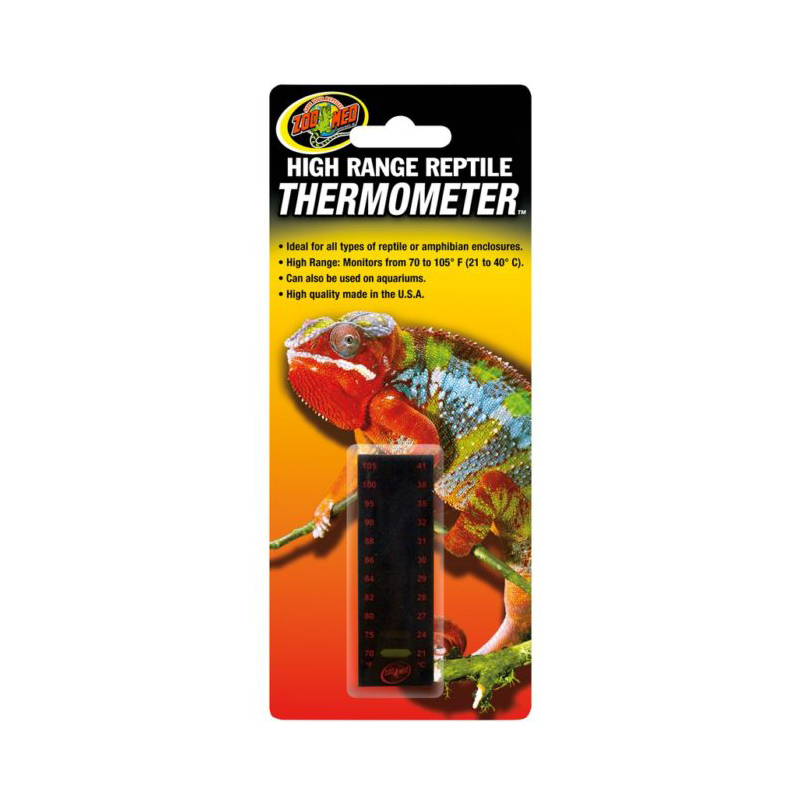 Zoo Med High Range Reptile Thermometer 9036