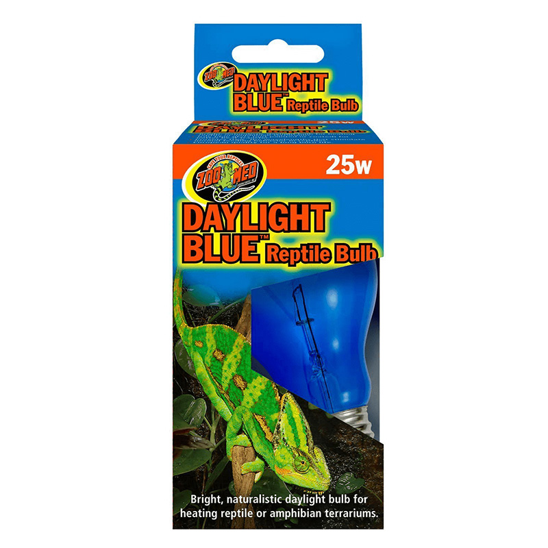 Zoo-Med Daylight Blue Reptile Bulb 25 w  90672