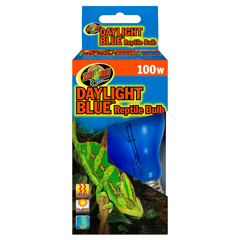 100 Watt Daylight Blue Reptile Bulb ZM 90675