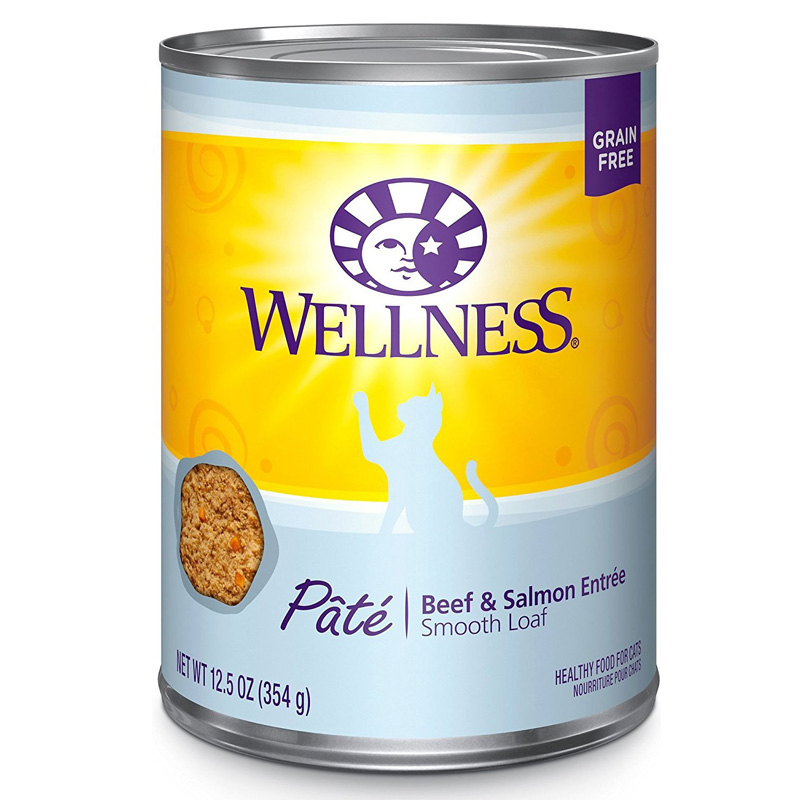 Wellness® Beef and Salmon Cat Wet Food 12.5 oz. 908818