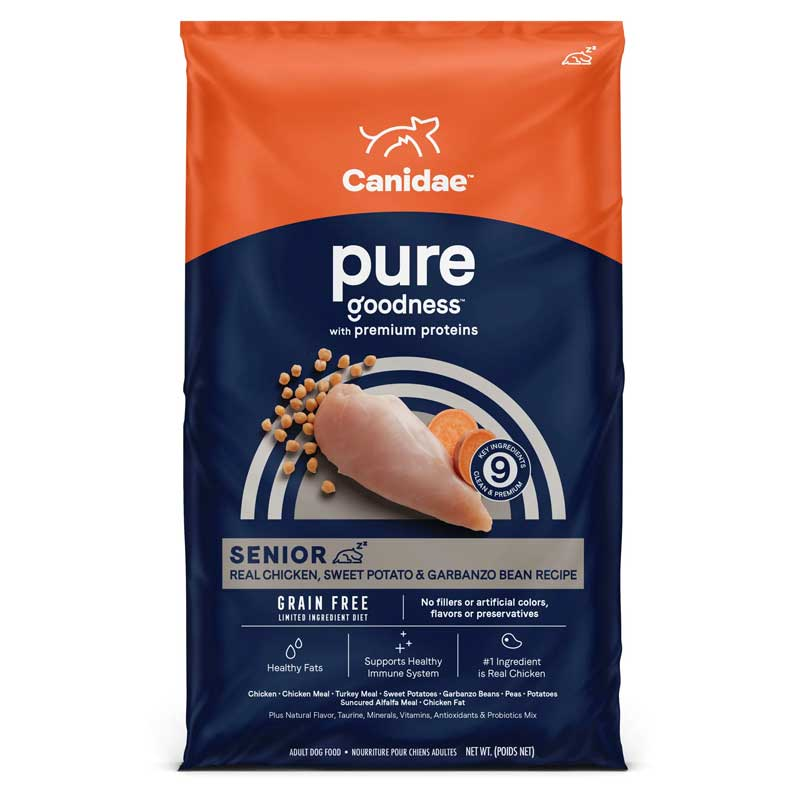 CANIDAE® Platinum Senior and Overweight Reformulated Dog Food 9105b