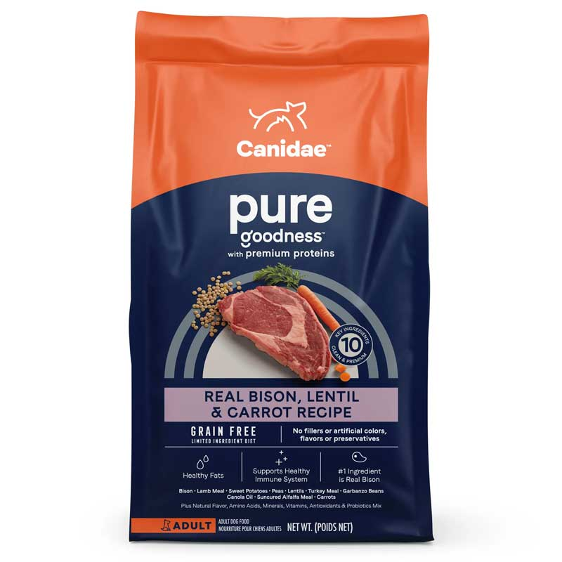CANIDAE® Grain Free Pure Land™ Dog Food 91067b