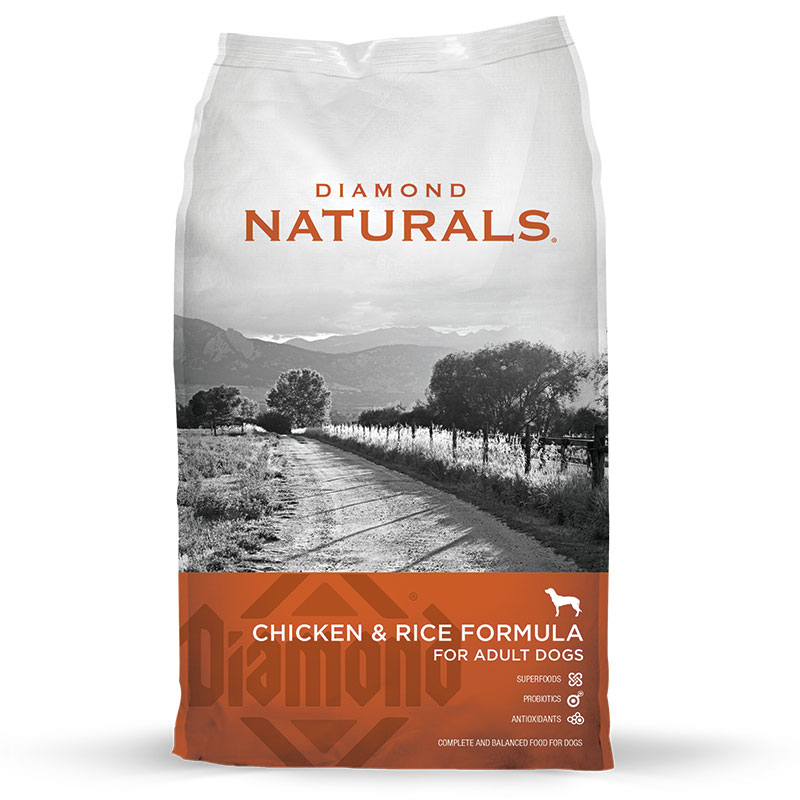 Diamond® Naturals Adult Dog Chicken & Rice 40 lbs. 92154