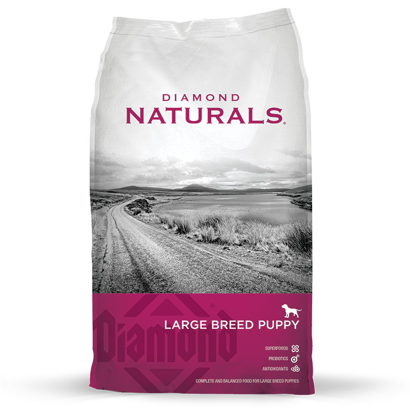 Diamond® Naturals Large Breed Puppy Food 40 lbs. 92156