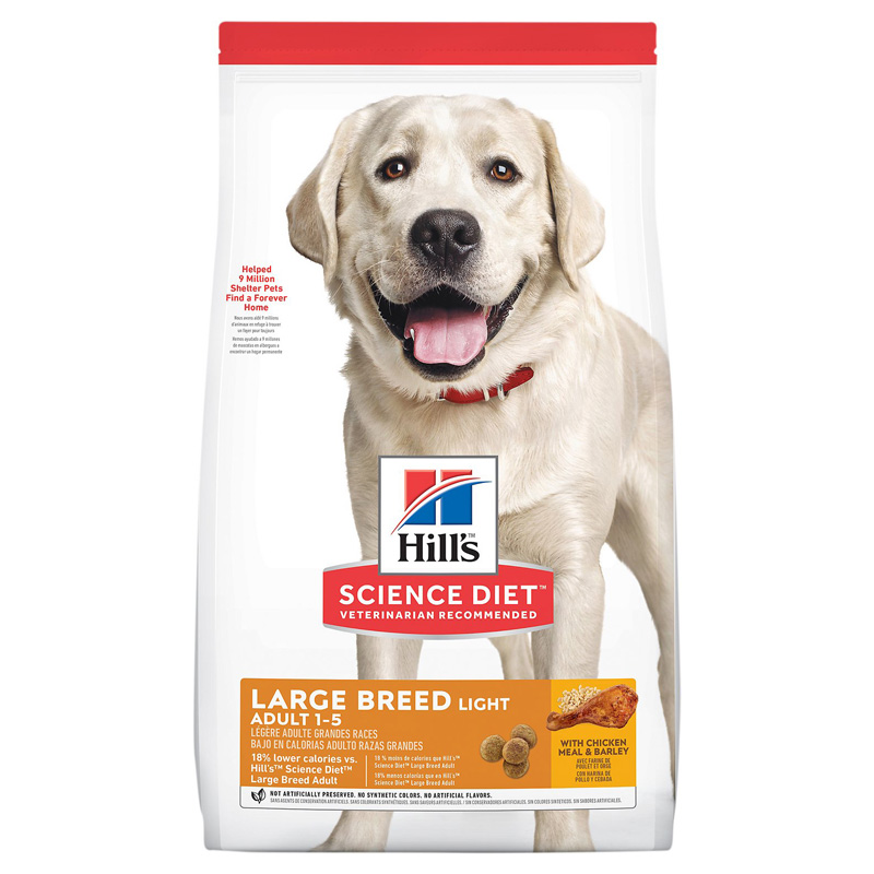 Science Diet ® Light Large Breed Adult  Dog Food 92263b