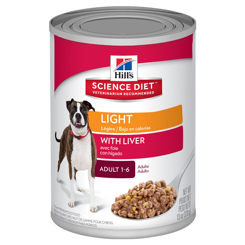 Hills ® Science Diet ® Light Adult Dog Food 13 oz. 992300