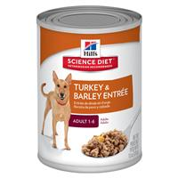 Hills ® Science Diet ® Gourmet Turkey Entrée Adult Advanced Fitness Dog Food 13 oz. 992302